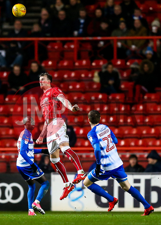 Aden Flint of Bristol City - Rogan/JMP - 26/12/2017 - Ashton Gate Stadium - Bristol, England - Bristol City v Reading - Sky Bet Championship.