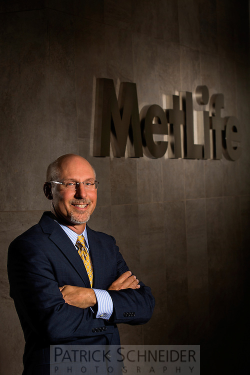 Executive Portrait Photography of Eric Steigerwalt Executive Vice President, MetLife U.S. Retail Business at their Charlotte, North Carolina office.<br /> <br /> Charlotte Photographer - PatrickSchneiderPhoto.com