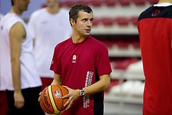 Assistant coach of Slovenia Miro Alilovic during the Practice session of National team of Slovenia at 2010 FIBA World Championships on September 7, 2010 at Ahmet Comert Spor Salonu in Istanbul, Turkey. (Photo By Vid Ponikvar / Sportida.com)