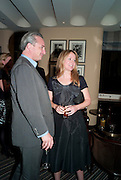 STEFAN RATIBOR; KATE REARDON, Graydon Carter hosts a dinner to celebrate the reopening og the American Bar at the Savoy.  Savoy Hotel, Strand. London. 28 October 2010. -DO NOT ARCHIVE-© Copyright Photograph by Dafydd Jones. 248 Clapham Rd. London SW9 0PZ. Tel 0207 820 0771. www.dafjones.com.