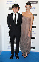 LONDON - NOVEMBER 10: Craig Roberts; Emma Pawson attended the Grey Goose Winter Ball at Battersea Power Station, London, UK. November 10, 2012. (Photo by Richard Goldschmidt)