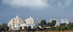 Nuclear reactor at San Onofre on a clear day