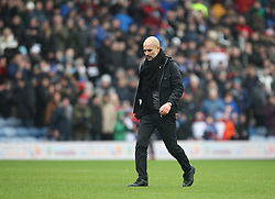 Manchester City manager Josep Guardiola looks dejected at the final whistle - Mandatory by-line: Jack Phillips/JMP - 03/02/2018 - FOOTBALL - Turf Moor - Burnley, England - Burnley v Manchester City - English Premier League