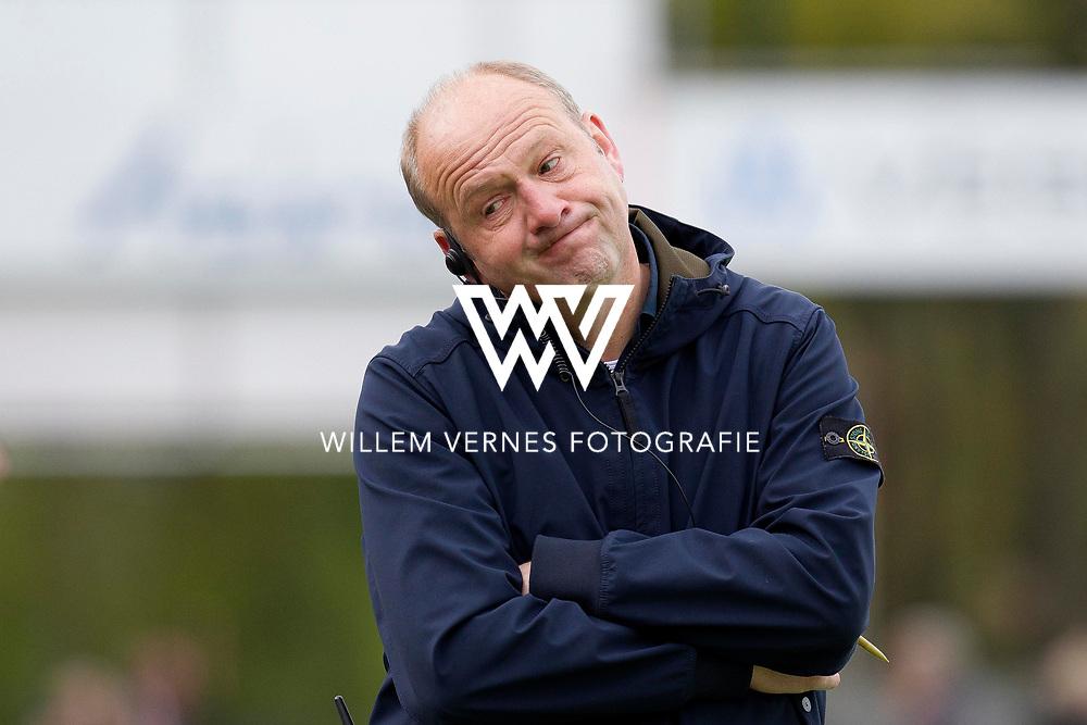 Eindhoven - OZ - HGC Heren, Hoofdklasse Hockey Heren, Seizoen 2015-2016, 30-04-2016, OZ - HGC, Coach OZ Michel van den Heuvel.