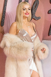 © Licensed to London News Pictures. 05/12/2016. BEBE REXHA arrives for The Fashion Awards 2016 celebrating the best of British and international fashion. London, UK. Photo credit: Ray Tang/LNP