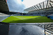 St James' Park ahead of the Premier League match between Newcastle United and Liverpool at St. James's Park, Newcastle, England on 4 May 2019.