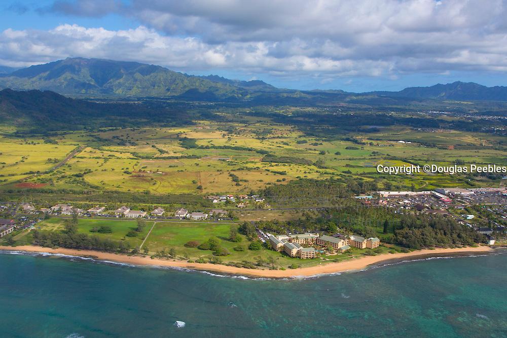 Waipoli Beach, Coconut Plantation, Wailua Kauai, Hawaii