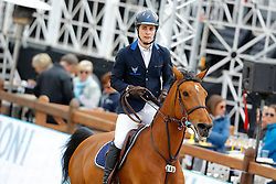 Van Massenhove Jordy, (BEL), Finesse van Sappenleen<br /> Global Champions Tour Antwerp 2016<br /> © Hippo Foto - Dirk Caremans<br /> 22/04/16
