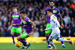 Jamie Paterson of Bristol City takes on Pablo Hernandez of Leeds United - Mandatory by-line: Robbie Stephenson/JMP - 24/11/2018 - FOOTBALL - Elland Road - Leeds, England - Leeds United v Bristol City - Sky Bet Championship