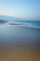 Evening beach scene, Fenwick Island, Delaware, USA.