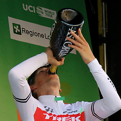 12-10-2019: Cycling: Il Lombardia: Como <br />Bauke Mollema wins Il Lombardia. And is the next Dutch winner after Hennie Kuiper who won the race in 1981