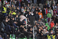 25.03.2011, SRC Stozice, Ljubljana, SLO, EURO 2012 Qualifikation, Slovenia vs Italy, im Bild Incidenti in tribuna.some clashes on the stands. EXPA Pictures © 2011, PhotoCredit: EXPA/ InsideFoto/ Nicolo Zangirolami +++++ ATTENTION - FOR AUSTRIA/AUT, SLOVENIA/SLO, SERBIA/SRB an CROATIA/CRO CLIENT ONLY +++++