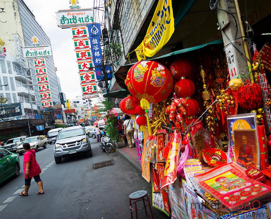 Shop. Chinatown. Bangkok, Thailand.
