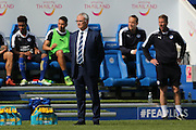 Leicester City Manager Claudio Ranieri  during the Barclays Premier League match between Leicester City and Southampton at the King Power Stadium, Leicester, England on 3 April 2016. Photo by Simon Davies.