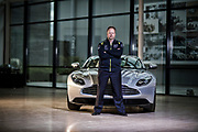 Andy Palmer - Aston Martin CEO, Photographed at the Aston Martin Gaydon Plant.