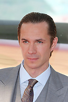 James D'Arcy, Dunkirk - World film premiere, Leicester Square Gardens, London UK, 13 July 2017, Allied soldiers from Belgium, the British Empire, Canada, and France are surrounded by the German army and evacuated during a fierce battle in World War II.