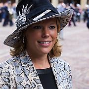 NLD/Den Haag/20130917 -  Prinsjesdag 2013, Tweede Kamerlid Lea Bouwmeester (PvdA)