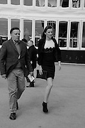 NEIL WAITE; CHRISTIE WAITE, The Cheltenham Festival Ladies Day. Cheltenham Spa. 11 March 2015