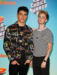 March 23, 2019 - Los Angeles, CA, USA - LOS ANGELES, CA - MARCH 23: Jack Gilinsky, Jack Johnson of JAck and Jack attend Nickelodeon's 2019 Kids' Choice Awards at Galen Center on March 23, 2019 in Los Angeles, California. Photo: CraSH for imageSPACE (Credit Image: © Imagespace via ZUMA Wire)