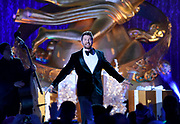 Brett Eldredge performs at the 2017 Rockefeller Center Christmas Tree Lighting Ceremony, Wednesday, Nov. 29, 2017, in New York. (Diane Bondareff/AP Images for Tishman Speyer)