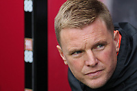 Football - 2018 / 2019 Premier League - AFC Bournemouth vs. Newcastle United<br /> <br /> Bournemouth's Manager Eddie Howe before kick off at the Vitality Stadium (Dean Court) Bournemouth <br /> <br /> COLORSPORT/SHAUN BOGGUST