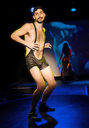 Bitch! Dyke! Faghag! Whore! <br /> by Penny Arcade <br /> co-directed by Steve Zehentner<br /> press photocall.29th June 2012 <br /> at The Arcola Tent, London, Great Britain <br /> <br /> Penny Arcade<br /> A Man to Pe<br /> Sasha Allen<br /> Emily Barnett-Salter<br /> Robert Davidson Beach aka NineBob<br /> Andrea Carrucciu <br /> Leslie Deere <br /> Gede Foster<br /> Andrea Pelone<br /> Gemma Sanchez<br /> <br /> Photograph by Elliott Franks