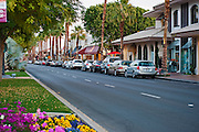 El Paseo, Palm Desert, CA,  Luxury Shopping, Art Galleries and Restaurants, Coachella Valley; Desert;