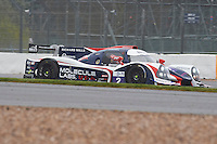 Alex Brundle (GBR) / Mike Guasch (USA) / Matthew Bell (GBR) / Christian England (GBR)  #2 United Autosports, Ligier JS P3, Nissan VK50VE 5.0 L V8, European Le Mans Series, Round 1, at Silverstone, Towcester, Northamptonshire, United Kingdom. April 15 2016. World Copyright Peter Taylor/PSP.