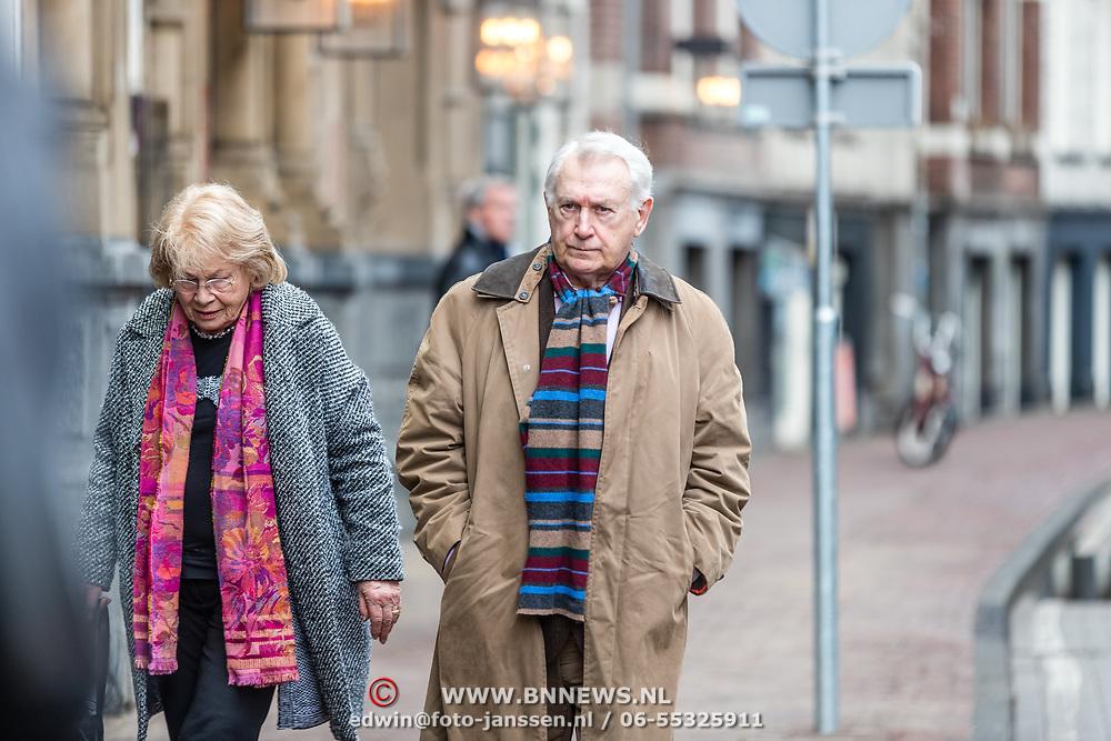 NLD/Amsterdam//20170309 - Herdenkingsdienst Guus Verstraete, Kees Postma en partner .....