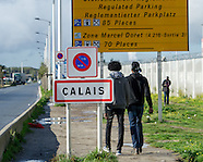 France: Calais Jungle, 22 Oct. 2016