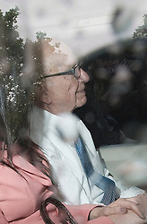 © licensed to London News Pictures. 19/07/2011. London, UK.  Rupert Murdoch leaving Portcullis house in London today (19/07/2011) after giving evidence in front of the Culture, Media and Sport Committee in relation to the News Of The World phone hacking scandal. Photo credit should read Ben Cawthra/LNP