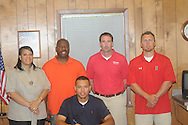 Lafayette High's Denzel Goolsby signs with Northwest Community College on Thursday, April 29, 2010.