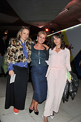 Left to right, BAY GARNETT, FIONA GOLFAR and TANIA FARES at the Vogue Festival Party 2013 in association with Vertu held at the Queen Elizabeth Hall, Southbank Centre, London SE1 on 27th April 2013.