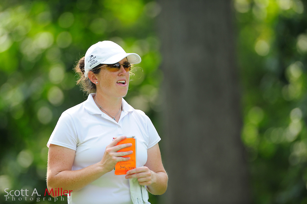 Lauren Doughtie during the Symetra Tour's Eagle Classic at the Richmond Country Club on August 17, 2012 in Richmond, Va...©2012 Scott A. Miller