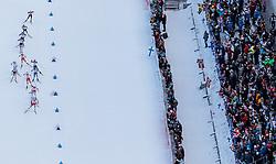 04.03.2017, Lahti, FIN, FIS Weltmeisterschaften Ski Nordisch, Lahti 2017, Langlauf Damen, 30km, im Bild Marit Bjoergen (NOR) führt die Gruppe an // Marit Bjoergen of Norway leads the group during Ladies 30km Cross Country Race of FIS Nordic Ski World Championships 2017. Lahti, Finland on 2017/03/04. EXPA Pictures © 2017, PhotoCredit: EXPA/ JFK