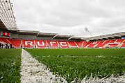 Stadium shot before the EFL Sky Bet League 1 play off second leg match between Rotherham United and Scunthorpe United at the AESSEAL New York Stadium, Rotherham, England on 16 May 2018. Picture by Nigel Cole.