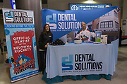 KELOWNA, CANADA - JANUARY 20:  Dental Solutions at the Kelowna Rockets game on January 20, 2018 at Prospera Place in Kelowna, British Columbia, Canada.  (Photo By Cindy Rogers/Nyasa Photography,  *** Local Caption ***