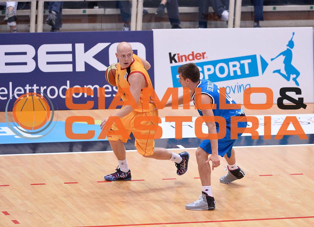 DESCRIZIONE : Trento Nazionale Italia Uomini Trentino Basket Cup Italia Belgio Italy Belgium<br /> GIOCATORE : Bosco Lionel<br /> CATEGORIA : palleggio<br /> SQUADRA : Belgio Belgium<br /> EVENTO : Trentino Basket Cup<br /> GARA : Italia Belgio Italy Belgium<br /> DATA : 12/07/2014<br /> SPORT : Pallacanestro<br /> AUTORE : Agenzia Ciamillo-Castoria/GiulioCiamillo<br /> Galleria : FIP Nazionali 2014<br /> Fotonotizia : Trento Nazionale Italia Uomini Trentino Basket Cup Italia Belgio Italy Belgium