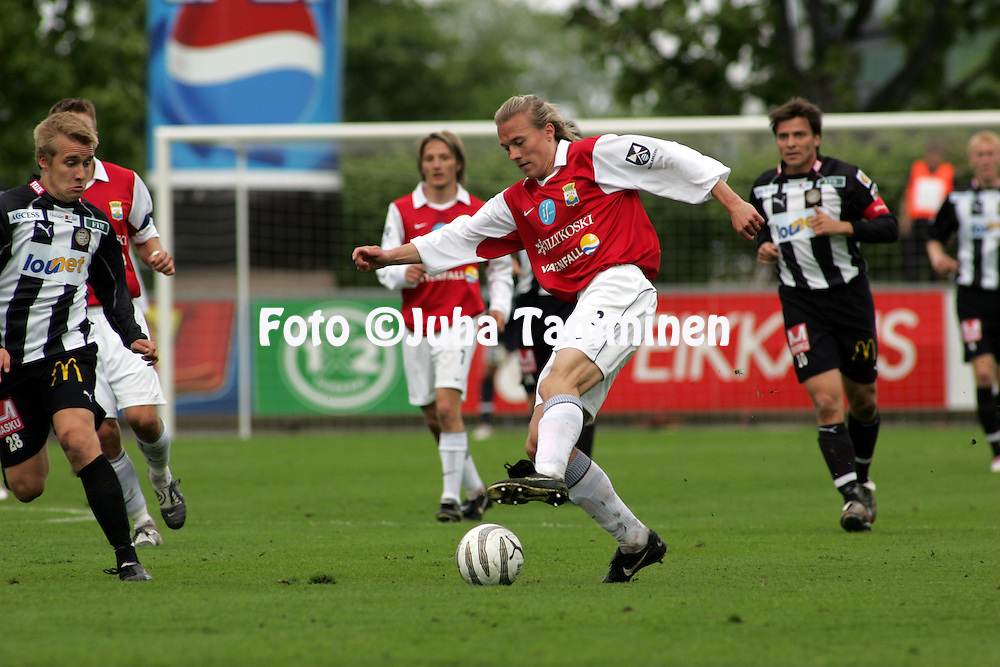 11.06.2005, Veritas Stadion, Turku, Finland..Veikkausliiga 2005 / Finnish League 2005.TPS Turku v Myllykosken Pallo-47.Sampsa Timoska - MyPa.©Juha Tamminen.....ARK:k