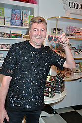 MARKUS LUPFER at a party to launch Biscuiteers Fashion Biscuit Collection inspired by Alice Naylor-Leyland's wardrobe held at Biscuiteers, 194 Kensington Park Road, London W11 on 23rd June 2015.