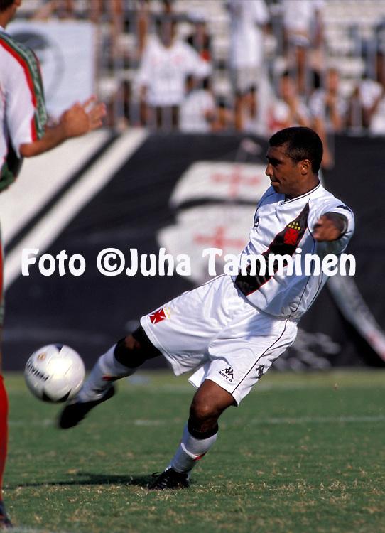 17.02.2001 .Rom?rio - CR Vasco da Gama.Full name: Rom?rio de Souza Faria.©JUHA TAMMINEN