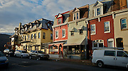 Berks Co., Reading, PA, Colorful Street Scene