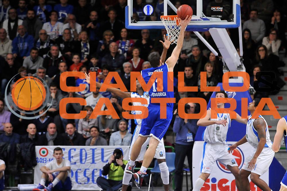 DESCRIZIONE : Eurocup 2014/15 Last 32 Gruppo H Dinamo Banco di Sardegna Sassari - Buducnost VOLI Podgorica<br /> GIOCATORE : Cedomir Vitkovac<br /> CATEGORIA : Tiro Penetrazione Controcampo<br /> SQUADRA : Buducnost VOLI Podgorica<br /> EVENTO : Eurocup 2014/2015<br /> GARA : Dinamo Banco di Sardegna Sassari - Buducnost VOLI Podgorica<br /> DATA : 28/01/2015<br /> SPORT : Pallacanestro <br /> AUTORE : Agenzia Ciamillo-Castoria / Luigi Canu<br /> Galleria : Eurocup 2014/2015<br /> Fotonotizia : Eurocup 2014/15 Last 32 Gruppo H Dinamo Banco di Sardegna Sassari - Buducnost VOLI Podgorica<br /> Predefinita :