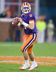 November 21, 2009; Clemson, SC, USA;  Clemson Tigers quarterback Kyle Parker (11) during the third quarter against the Virginia Cavaliers at Memorial Stadium.  Clemson defeated Virginia 34-21.