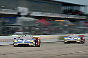 March 17-19, 2016: Mobile 1 12 hours of Sebring 2016. #67 Ryan Briscoe, Richard Westbrook, Stefan Mücke, Ford Chip Ganassi Racing, Ford GT GTLM, #66 Joey Hand, Dirk Muller, Sebastien Bourdais, Ford Chip Ganassi Racing, Ford GT GTLM