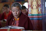 Bhutan Nuns