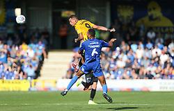 Jonson Clarke-Harris of Bristol Rovers heads the ball - Mandatory by-line: Arron Gent/JMP - 21/09/2019 - FOOTBALL - Cherry Red Records Stadium - Kingston upon Thames, England - AFC Wimbledon v Bristol Rovers - Sky Bet League One