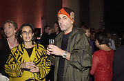 Alma Arad and Ron Arad. Turner Prize. Tate Gallery. 8 December 2002. © Copyright Photograph by Dafydd Jones 66 Stockwell Park Rd. London SW9 0DA Tel 020 7733 0108 www.dafjones.com