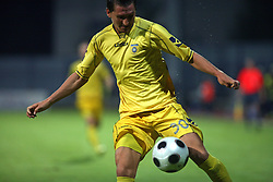 Andraz Kirm  (30) of Domzale at 1st football game of 2nd Qualifying Round for UEFA Champions league between NK Domzale vs HNK Dinamo Zagreb, on July 30, 2008, in Domzale, Slovenia. Dinamo won 3:0. (Photo by Vid Ponikvar / Sportal Images)