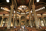 People praying in La Basilica church, Cartago, Costa Rica.<br />